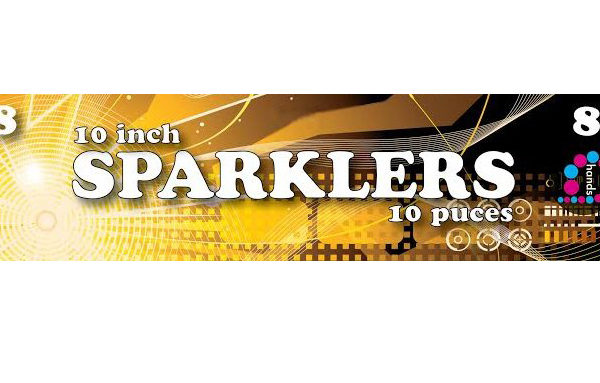 10″ Sparklers