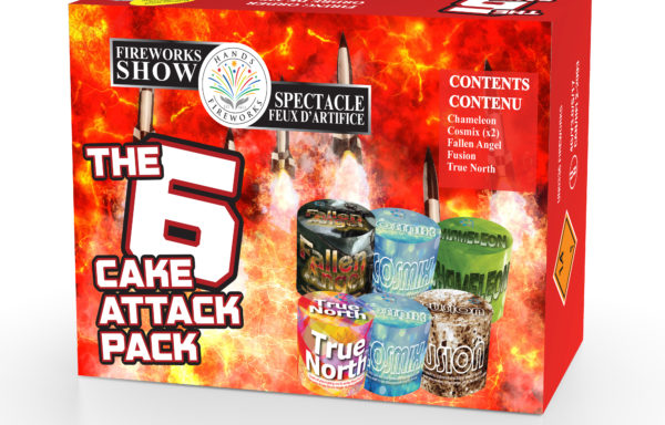 The 6-cake Attack Pack *New*