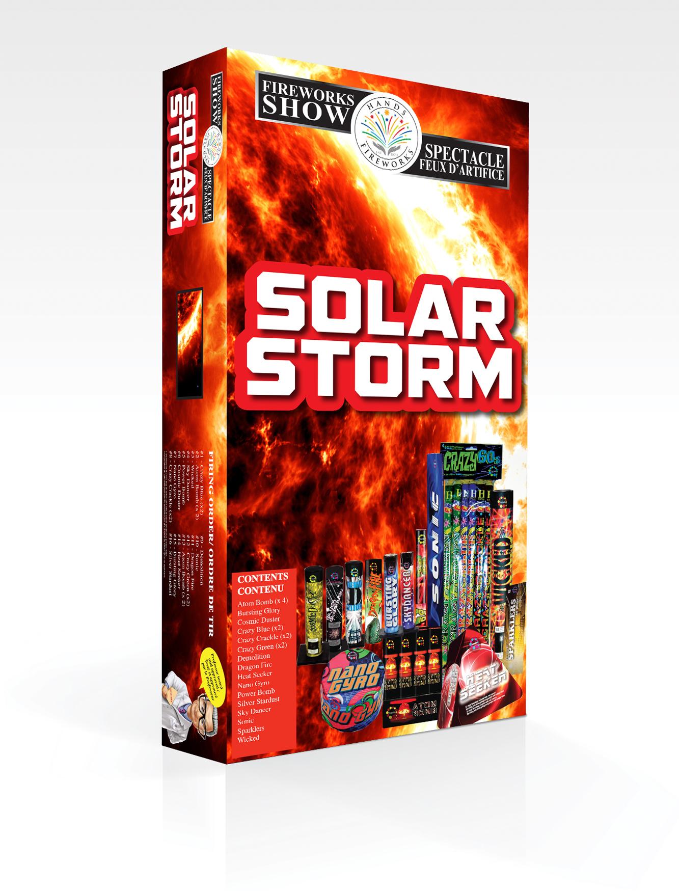 solar storm firework - photo #21
