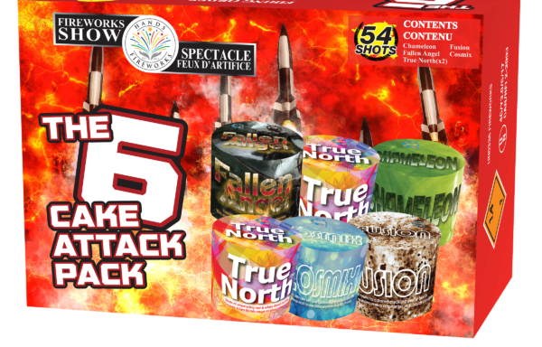 The 6-cake Attack Pack *NEW 2020*