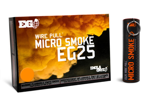 EG25 Orange Smoke Device