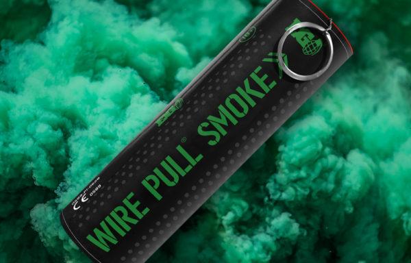 EG40 Green Smoke Grenade
