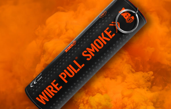 EG40 Orange Smoke Grenade
