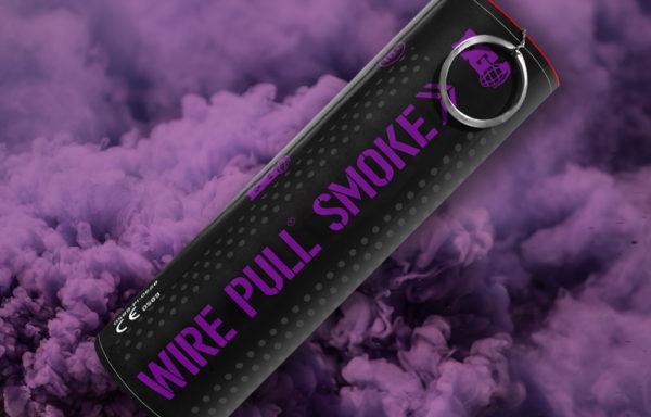 EG40 Purple Smoke Grenade