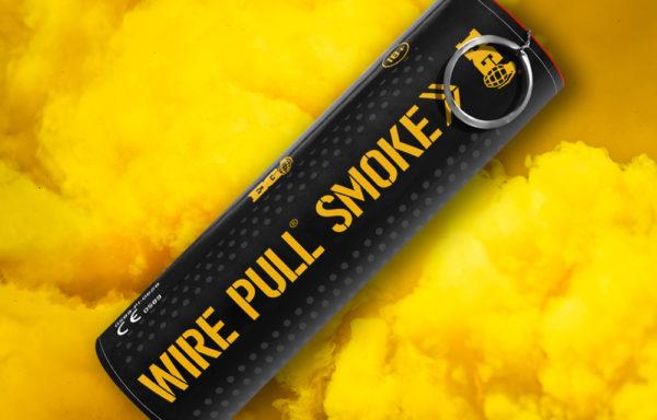 EG40 Yellow Smoke Grenade