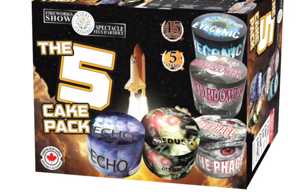 The 5 cake Pack *New Design*