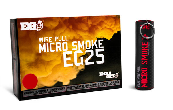 EG25 Red Smoke Device