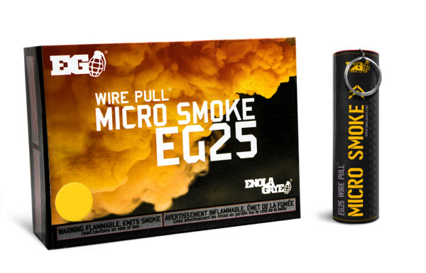 EG25 Yellow Smoke Device